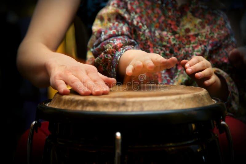 Masterclass del tambor imagen de archivo