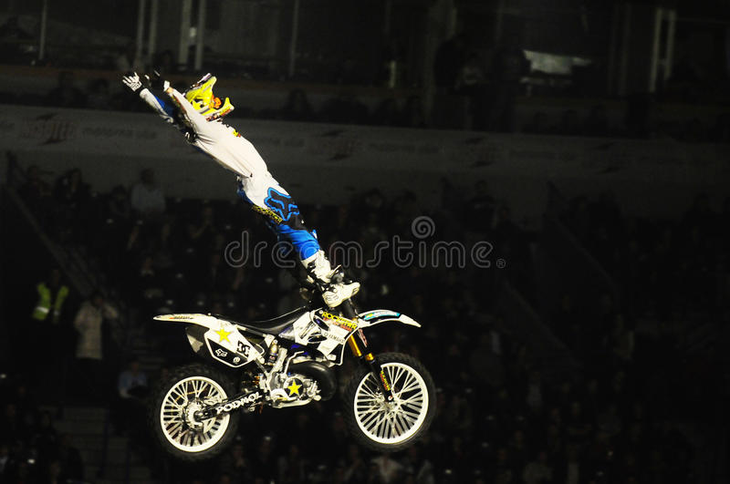 Download Masters of dirt moto show editorial stock photo. Image of arena - 38063823
