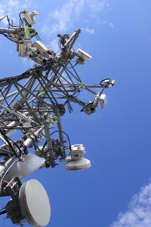 Mastro da telecomunicação imagem de stock