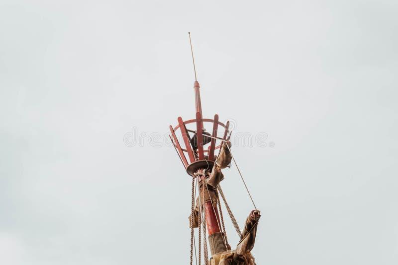Mastro no navio foto de stock royalty free
