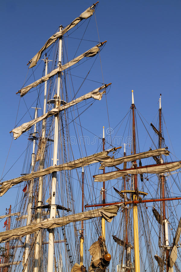 Download Masts On Several Tall Ships Stock Photo - Image: 23138750