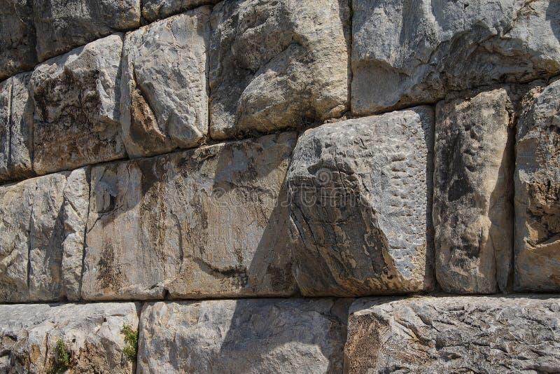 Masywna ashlar kamieniarstwa ściana obraz royalty free