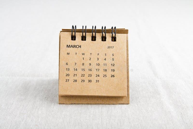 maszerujący Kalendarzowy prześcieradło obrazy royalty free