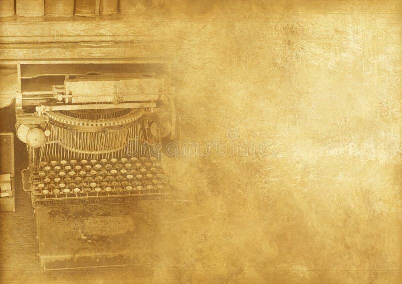 Maszyna do pisania maszyny rocznik zdjęcie royalty free