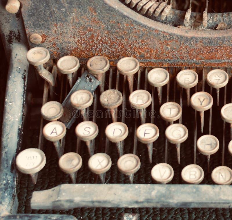 Maszyna do pisania obraz royalty free