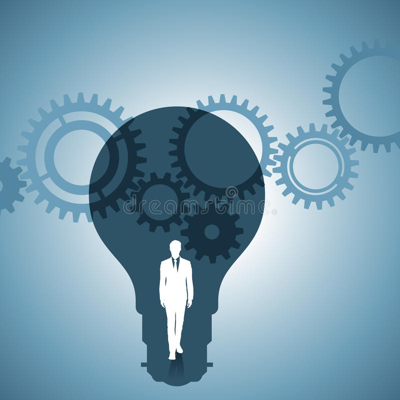 Maszyneria pomysł ilustracja wektor