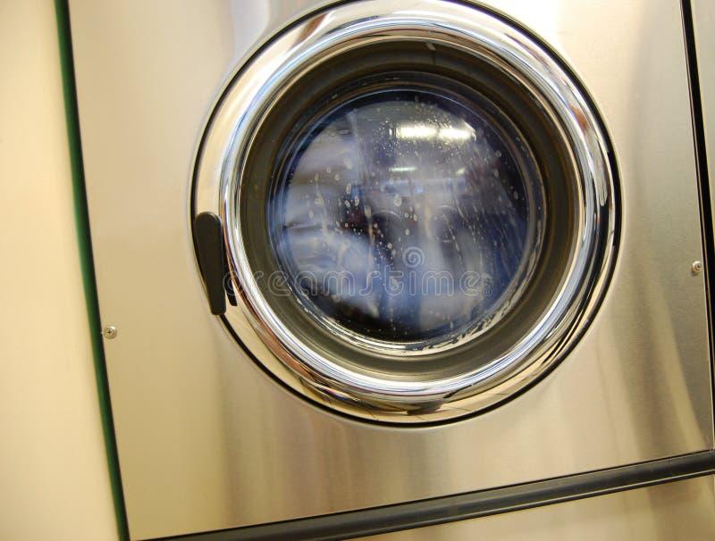 maszynowy laundromat domycie zdjęcie stock