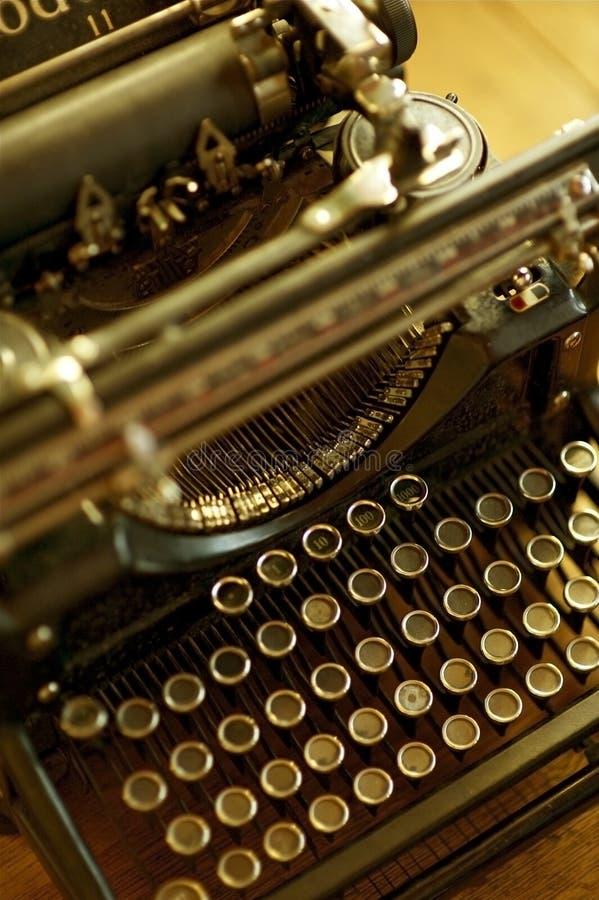 maszynowy stary maszyna do pisania obrazy royalty free