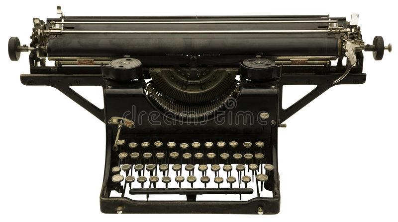 maszynowy stary pisać na maszynie fotografia royalty free