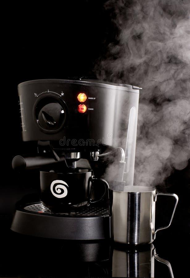 maszyny do espresso użycia fotografia stock