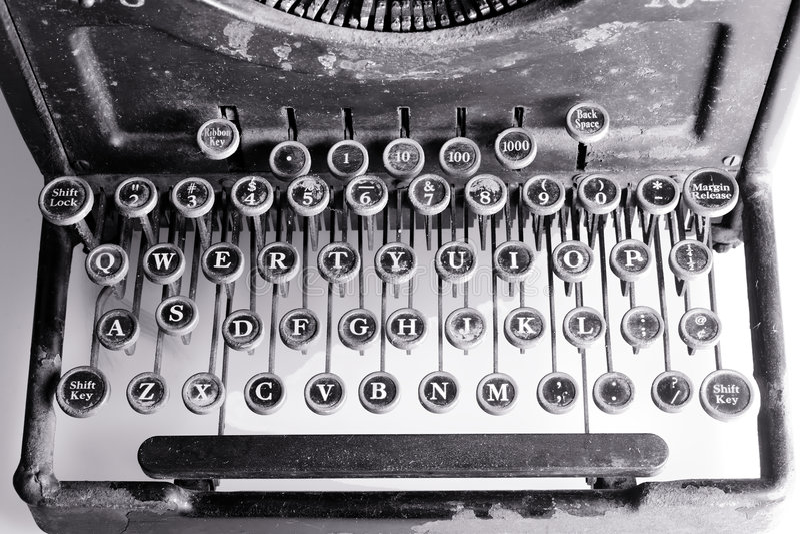 maszyny do pisania zdjęcia stock