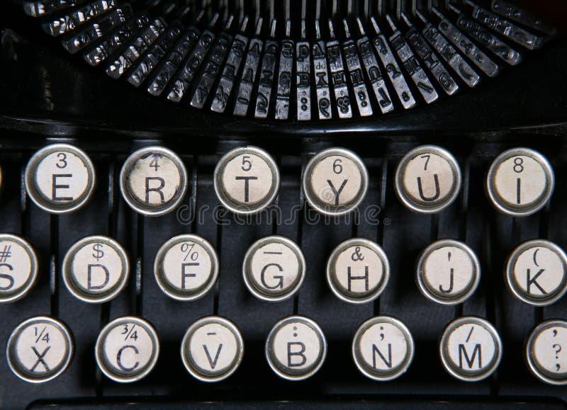 maszyny do pisania roczne fotografia stock