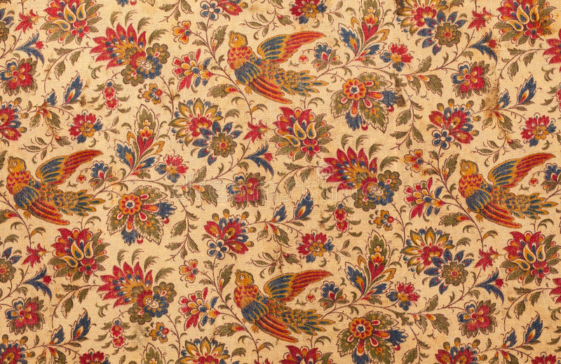 Matéria têxtil antiga imagem de stock royalty free