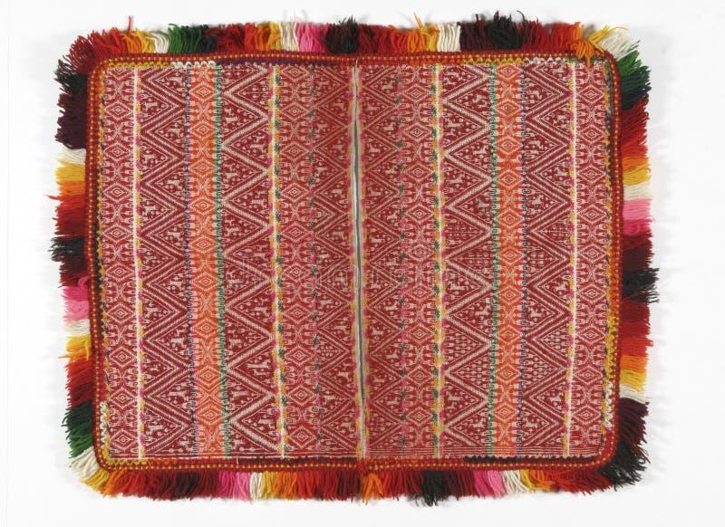 Matéria têxtil boliviana imagens de stock