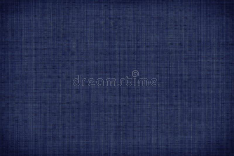 Matéria têxtil ultra azul da amostra de folha, superfície granulado da tela para a capa do livro, elemento de linho do projeto, t ilustração royalty free