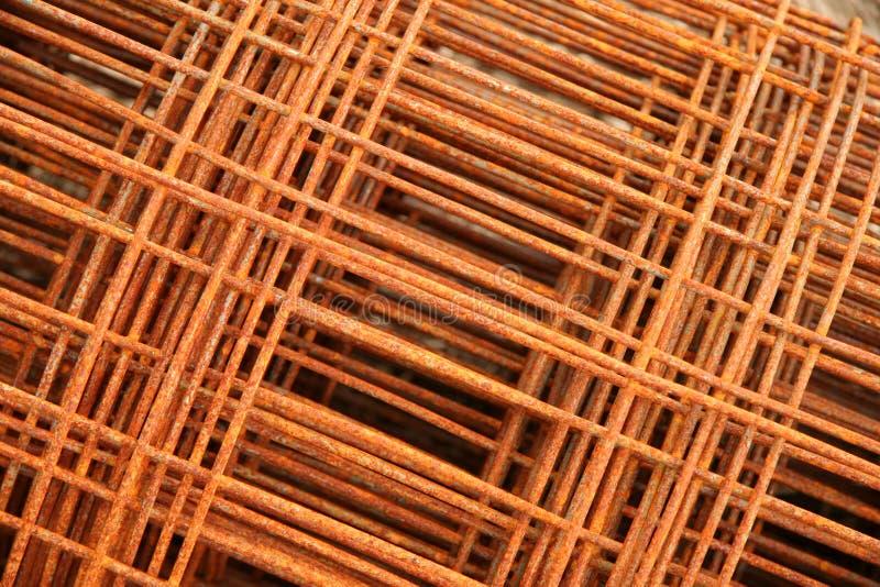 Matériau de clôture rouillé photo libre de droits