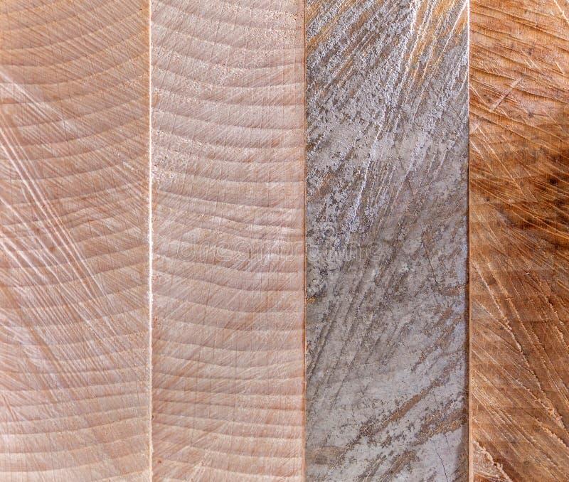 Matériau de construction en bois de bois de construction pour le fond et la texture Fin vers le haut strupture en bois fond de tm photo libre de droits