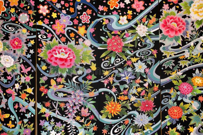 Matériau de kimono photographie stock