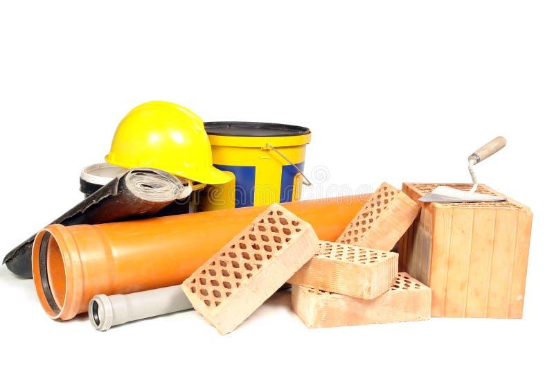 Matériaux de construction images libres de droits