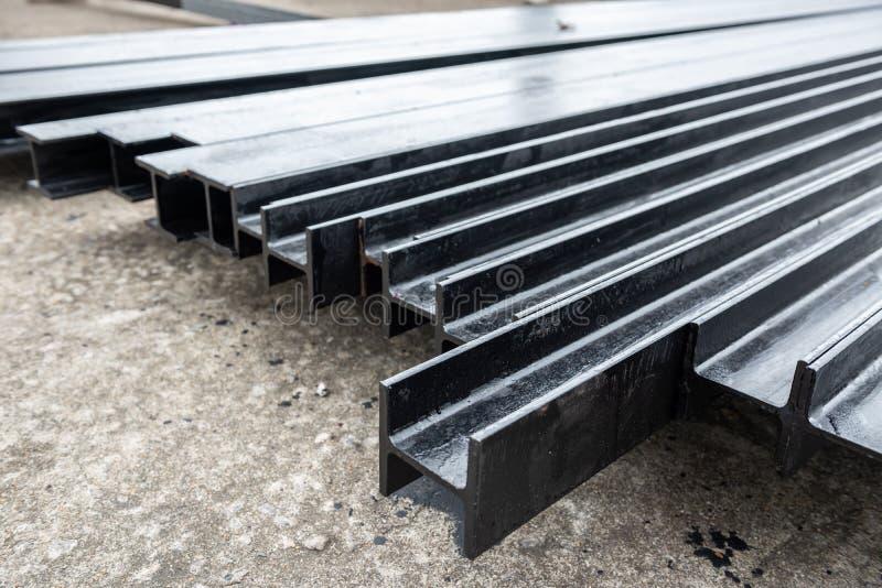 Matériaux de construction en acier pour la construction photo stock