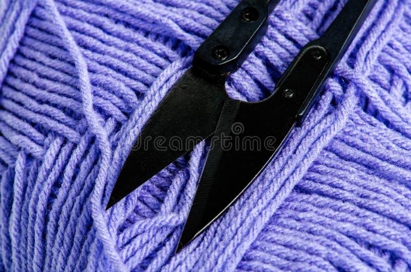 Download Matériaux de crochet photo stock. Image du rétro, noir - 76078328