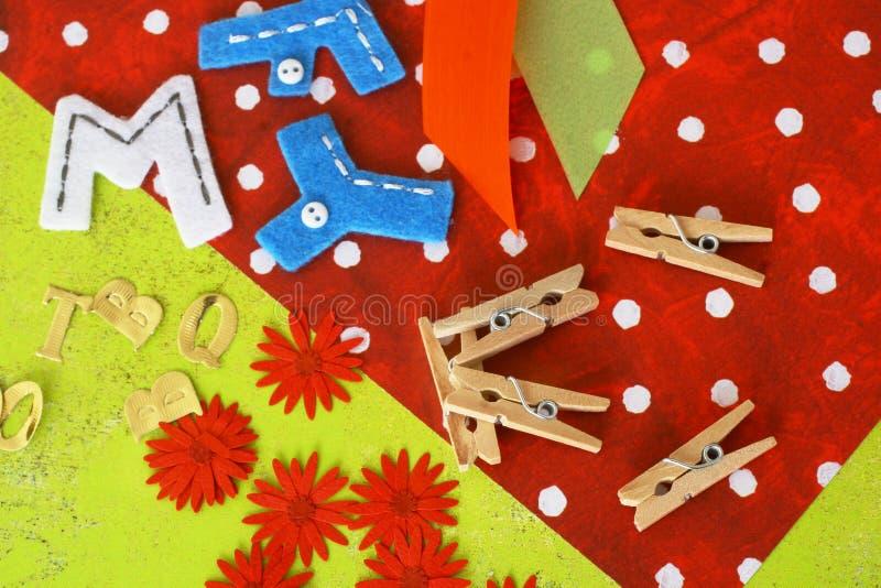 Matériaux de Scrapbooking photo libre de droits
