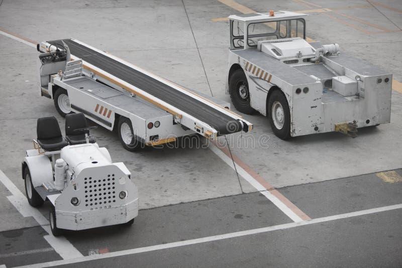 Matériel d'aéroport image libre de droits