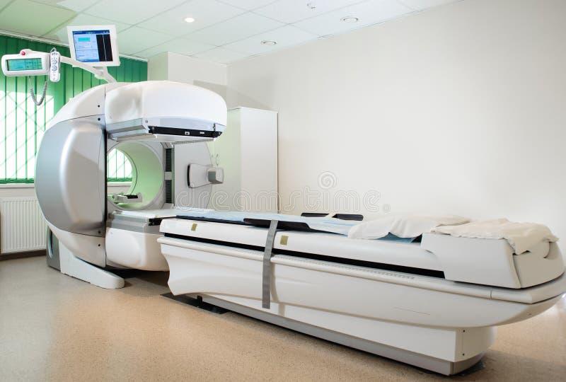 Matériel dans le service d'oncologie photo libre de droits
