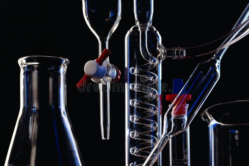 Matériel de chimie photographie stock libre de droits