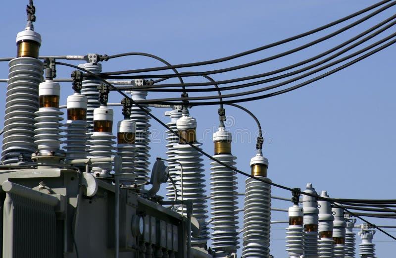 Matériel de distribution d'énergie photo stock