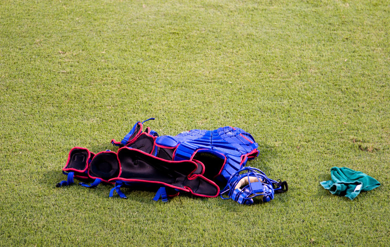 Matériel de gant de baseball photos libres de droits
