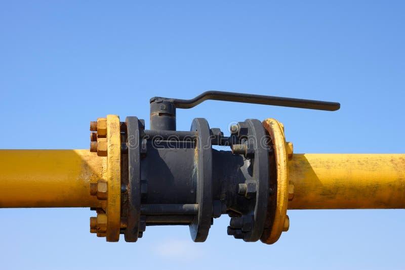 Matériel de gaz photo stock
