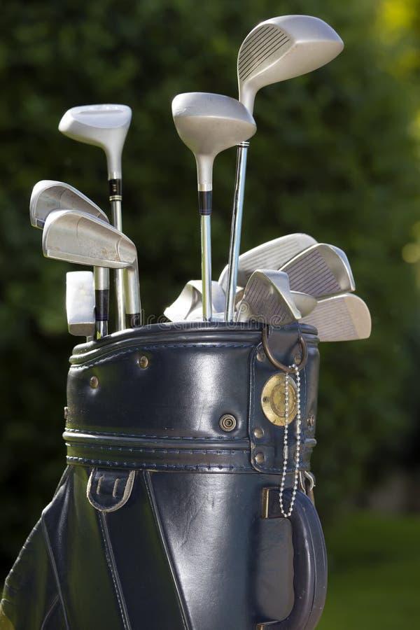 Matériel de golf photographie stock