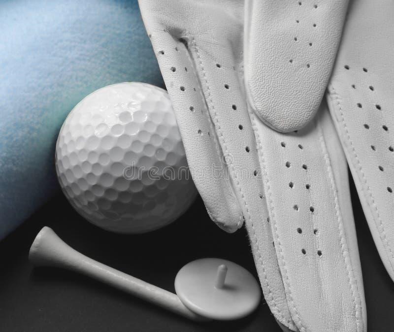 Matériel de golf images stock