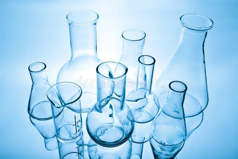 Matériel de laboratoire chimique image libre de droits
