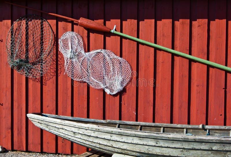 Matériel de pêche photos stock