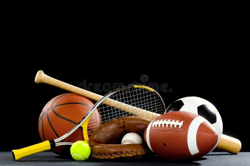Matériel de sports images stock