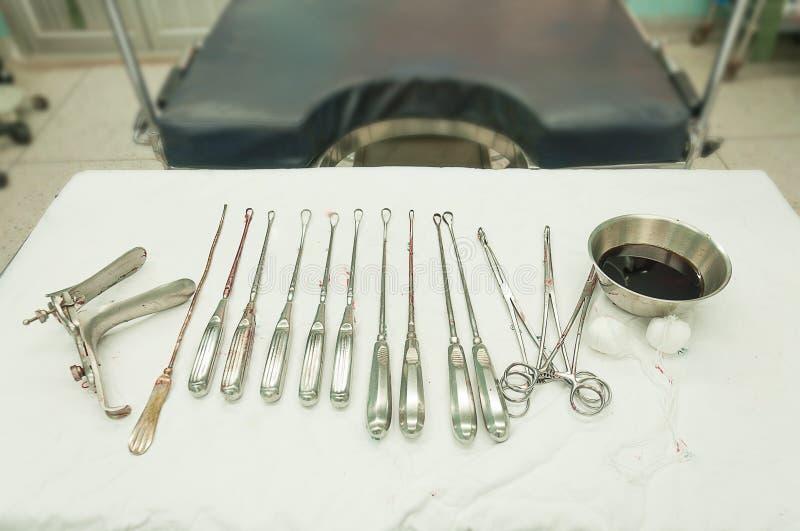 Matériel gynécologique photos stock