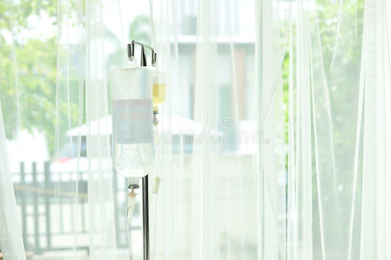 Matériel médical salin photo libre de droits