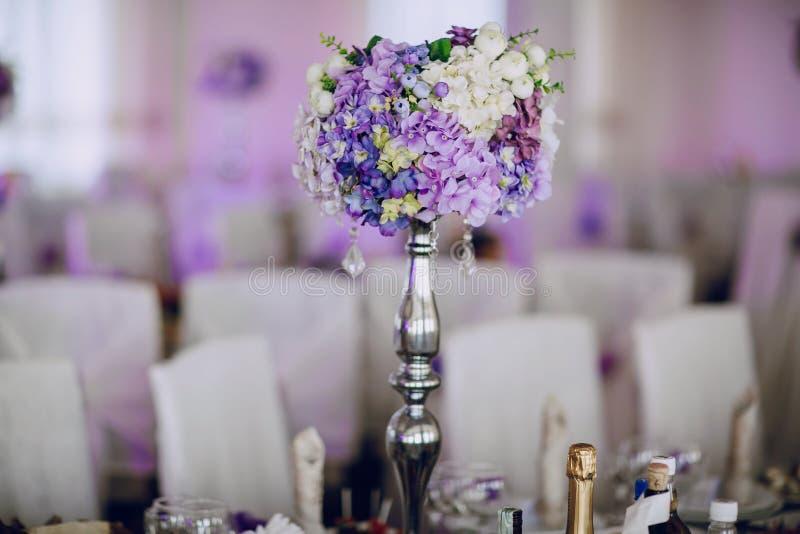 Mat för dekor för bröllopmottagande fotografering för bildbyråer
