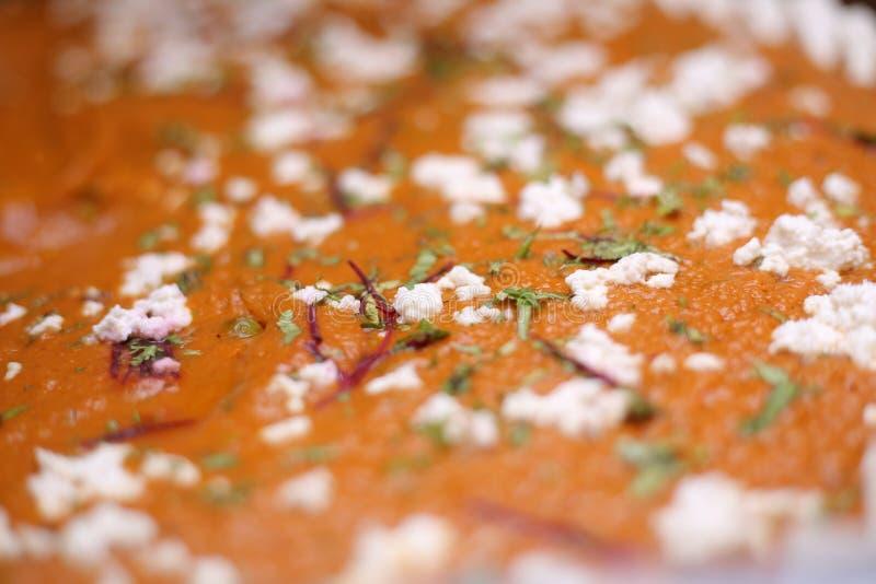 Mat för Pav-bhajiMasala indisk gata royaltyfria foton