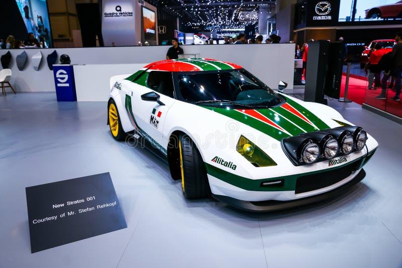 MAT New Stratos Rally fotos de stock royalty free