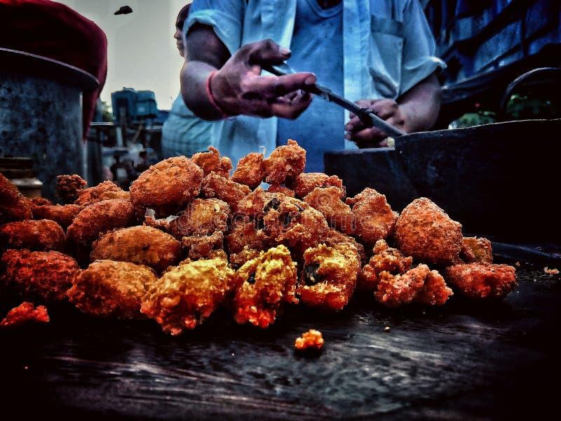 Mat- och gataläckerheter royaltyfri foto