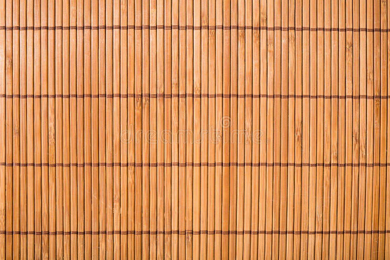 Mat Texture en bambou images stock