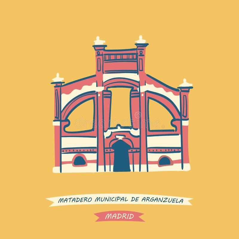 Matadero Μαδρίτη απεικόνιση αποθεμάτων