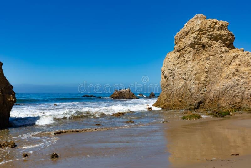 Matador Beach, Kalifornien arkivfoto