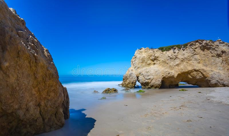 Matador Beach, Kalifornien royaltyfri foto
