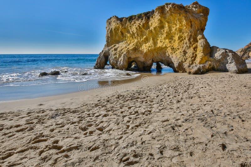 Matador Beach -- Malibu Kalifornien royaltyfri bild