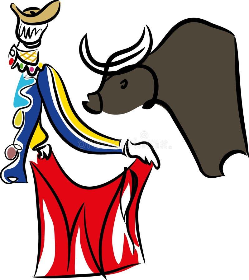 Download Matador And Bull.Bullfighting. Stock Vector - Illustration of bull, bullfighter: 112621583