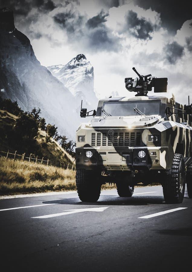 Matador de MRAP imagem de stock
